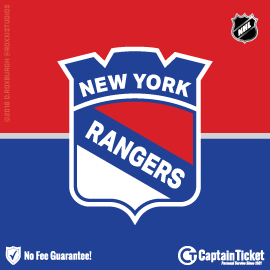 Buy New York Rangers tickets cheaper with no fees at Captain Ticket™ - The Original No Fee Ticket Site!