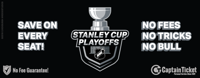 Get NHL Stanley Cup Playoff Tickets Cheap, Fast, And Easy - No Fees