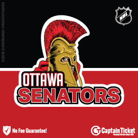 Buy Ottawa Senators tickets for less with no service fees at Captain Ticket™ - The Original No Fee Ticket Site! #FanArtByRoxxi