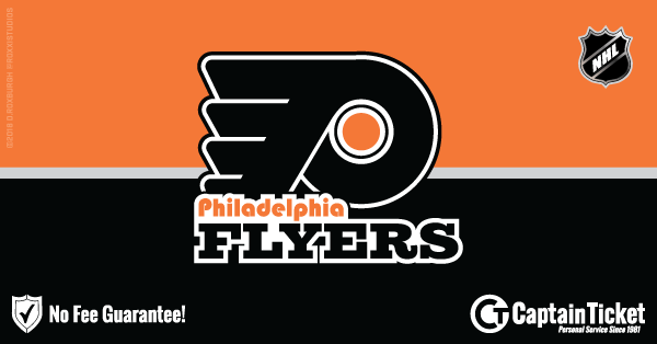 Get Philadelphia Flyers tickets for less with everyday low prices and no service fees at Captain Ticket™ - The Original No Fee Ticket Site! #FanArtByRoxxi
