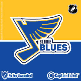 Buy St. Louis Blues tickets for less with no service fees at Captain Ticket™ - The Original No Fee Ticket Site! #FanArtByRoxxi