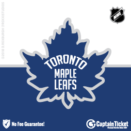 Buy Toronto Maple Leafs tickets for less with no service fees at Captain Ticket™ - The Original No Fee Ticket Site! #FanArtByRoxxi