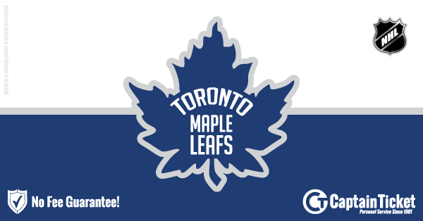 Get Toronto Maple Leafs tickets for less with everyday low prices and no service fees at Captain Ticket™ - The Original No Fee Ticket Site! #FanArtByRoxxi