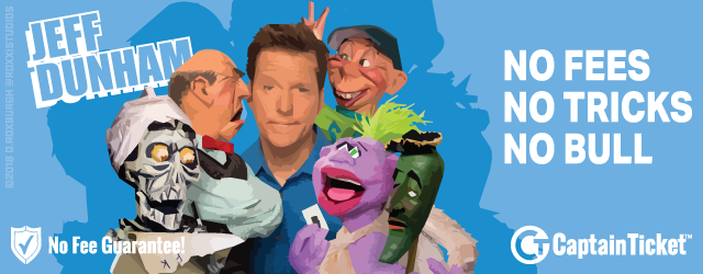 Jeff Dunham Tickets Cheaper With No Fees