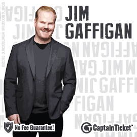 Buy Jim Gaffigan tickets for less with no service fees at Captain Ticket™ - The Original No Fee Ticket Site! #FanArtByRoxxi