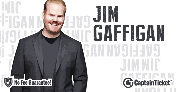 Get Jim Gaffigan tickets for less with everyday low prices and no service fees at Captain Ticket™ - The Original No Fee Ticket Site! #FanArtByRoxxi