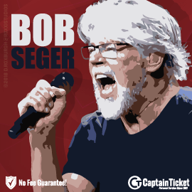 Buy Bob Seger tickets at the cheapest prices online with no fees or hidden charges