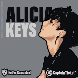 BUY ALICIA KEYS TICKETS CHEAPER WITHOUT FEES