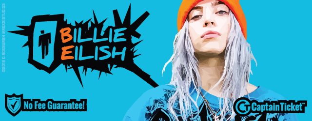 Get Billie Eilish tickets cheaper with no service fees