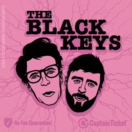 Buy The Black Keys tickets for less with no service fees at Captain Ticket™ - The Original No Fee Ticket Site! #FanArtByRoxxi