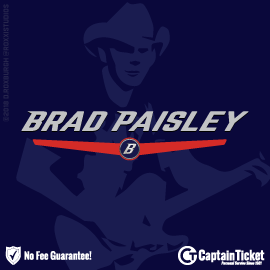 GET BRAD PAISLEY TICKETS CHEAPER