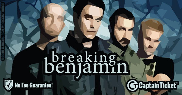 Get Breaking Benjamin tickets for less with everyday low prices and no service fees at Captain Ticket™ - The Original No Fee Ticket Site! #FanArtByRoxxi