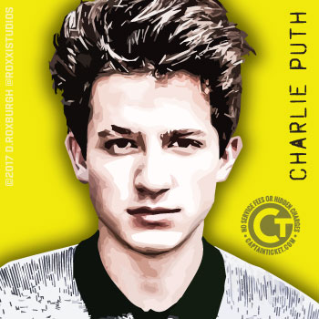 Get Charlie Puth Tickets cheap with no fees or hidden charges