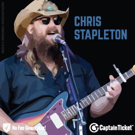 Buy Chris Stapleton tickets cheaper with no fees at Captain Ticket™ - The Original No Fee Ticket Site!