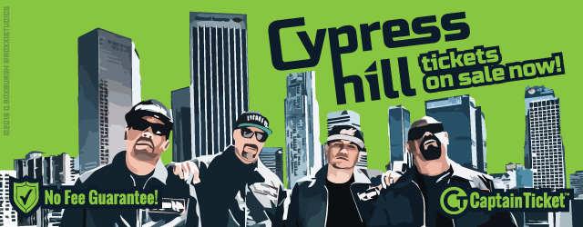 Get Cypress Hill tickets cheaper without fees