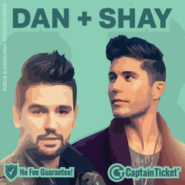 Buy Dan and Shay tickets for less with no service fees at Captain Ticket™ - The Original No Fee Ticket Site! #FanArtByRoxxi