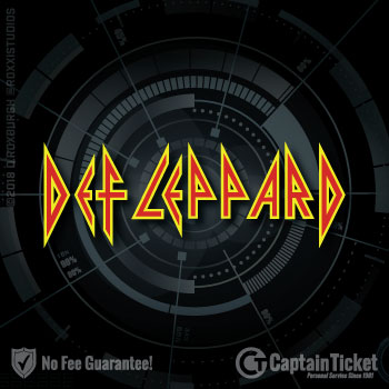 Buy Def Leppard tickets at the cheapest prices online with no fees or hidden charges