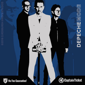 Buy Depeche Mode tickets cheaper with no fees at Captain Ticket™ - The Original No Fee Ticket Site!