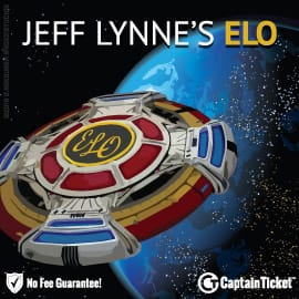 Buy Electric Light Orchestra tickets cheaper with no fees at Captain Ticket™ - The Original No Fee Ticket Site!