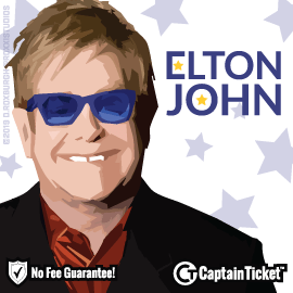Buy Elton John tickets for less with no service fees at Captain Ticket™ - The Original No Fee Ticket Site! #FanArtByRoxxi