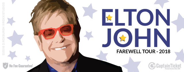 Get Elton John tickets for less with no service fees or hidden charges.