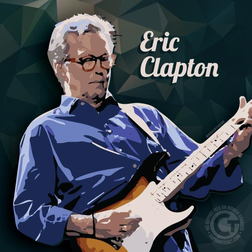 Eric Clapton Tickets On Sale Now!