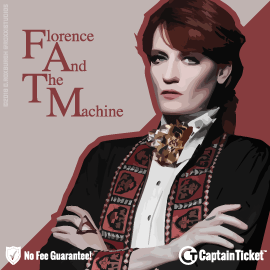 Buy Florence and the Machine tickets cheaper with no fees at Captain Ticket™ - The Original No Fee Ticket Site!