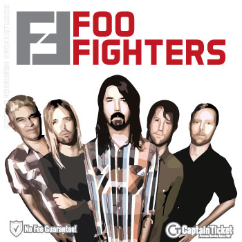 Foo Fighters Concrete And Gold Tour - 2018