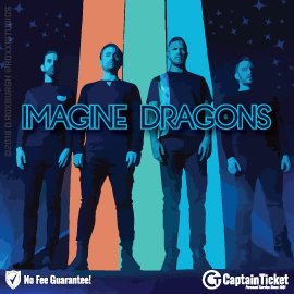 Buy Imagine Dragons tickets cheaper with no fees at Captain Ticket™ - The Original No Fee Ticket Site!