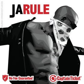 Buy Ja Rule tickets cheaper with no fees at Captain Ticket™ - The Original No Fee Ticket Site!
