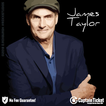 GET JAMES TAYLOR TICKETS ON SALE NOW