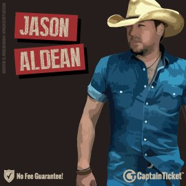 Buy Jason Aldean tickets cheaper with no fees at Captain Ticket™ - The Original No Fee Ticket Site!