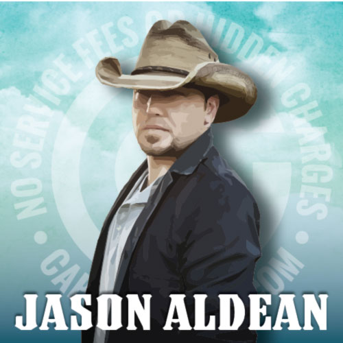 Get Jason Aldean Tickets cheap with no fees or hidden charges