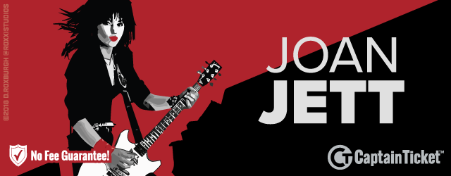 Joan Jett Tickets On Sale Now Without Service Fees