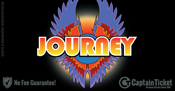 Buy Journey tickets cheaper with no fees at Captain Ticket™ - The Original No Fee Ticket Site!