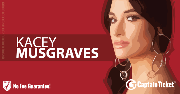 Buy Kacey Musgraves tickets cheaper with no fees at Captain Ticket™ - The Original No Fee Ticket Site!