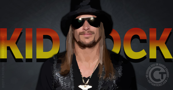 Get Kid Rock Tickets cheap with no fees or hidden charges
