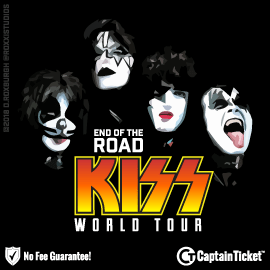 GET KISS - END OF THE ROAD TICKETS