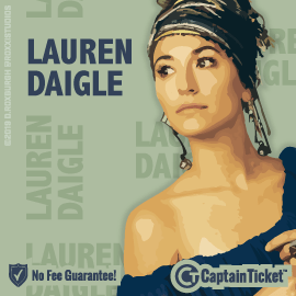 Buy Lauren Daigle tickets for less with no service fees at Captain Ticket™ - The Original No Fee Ticket Site! #FanArtByRoxxi