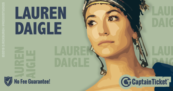 Get Lauren Daigle tickets for less with everyday low prices and no service fees at Captain Ticket™ - The Original No Fee Ticket Site! #FanArtByRoxxi