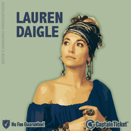 Lauren Daigle Tour Tickets On Sale Now - Best Seats With No Fees!