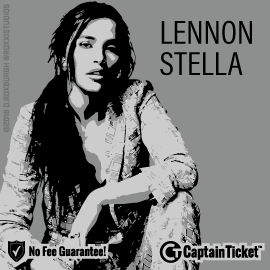 Buy Lennon Stella tickets cheaper with no fees at Captain Ticket™ - The Original No Fee Ticket Site!