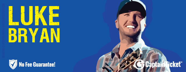 Get cheap Luke Bryan without fees