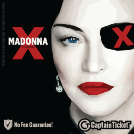 Buy Madonna tickets for less with no service fees at Captain Ticket™ - The Original No Fee Ticket Site! #FanArtByRoxxi