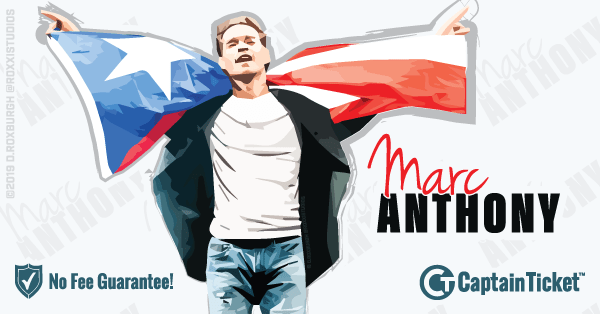 Get Marc Anthony tickets for less with everyday low prices and no service fees at Captain Ticket™ - The Original No Fee Ticket Site! #FanArtByRoxxi