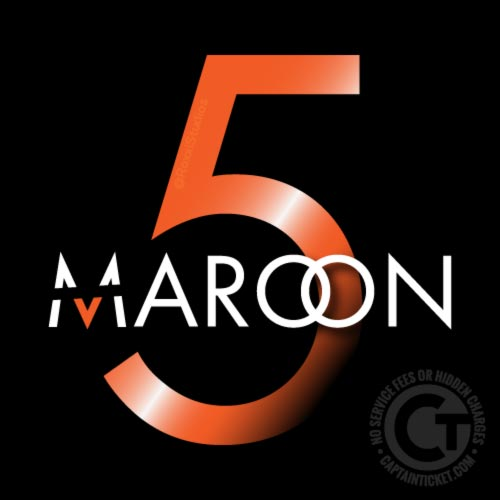 Maroon 5 tickets with no fees at Captain Ticket