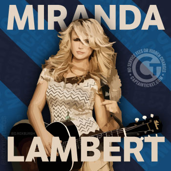 Get Miranda Lambert Tickets cheap with no fees or hidden charges