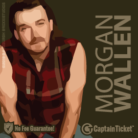 Buy Morgan Wallen tickets for less with no service fees at Captain Ticket™ - The Original No Fee Ticket Site! #FanArtByRoxxi