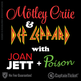 GET MOTLEY CRUE + DEF LEPPARD TICKETS ON SALE NOW