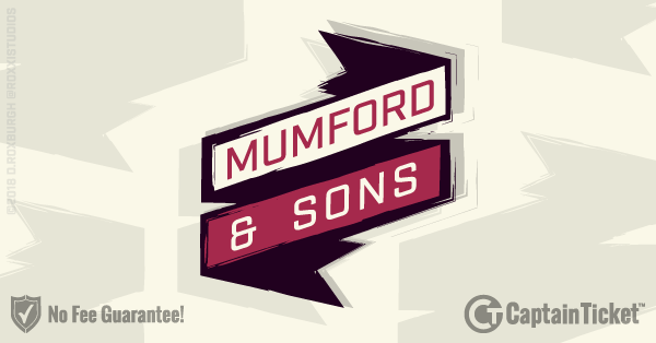 Buy Mumford and Sons tickets cheaper with no fees at Captain Ticket™ - The Original No Fee Ticket Site!